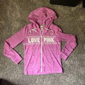 Purple PINK hoodie